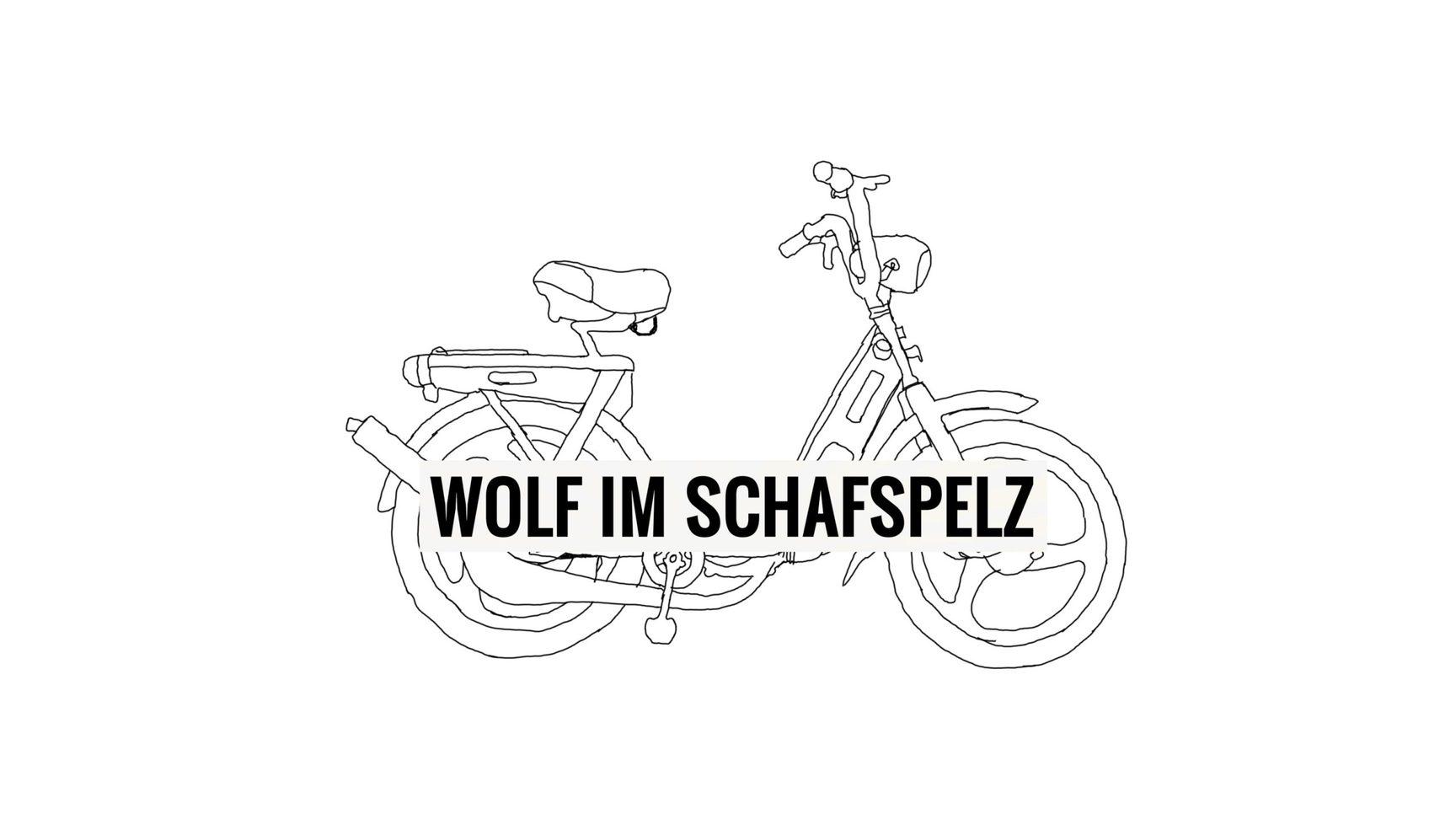 Piaggio Ciao Wolf im Schafspelz